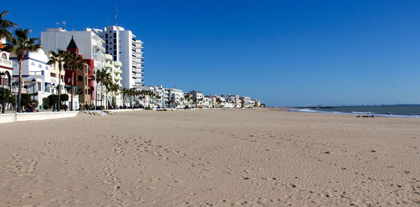 Best beaches in Cadiz: The Costilla Beach